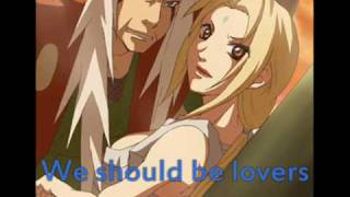 Elephant Love Medley-Jiraya and Tsunade with lyrics.
