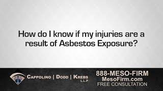Asbestos Attorney Richard Dodd Can Find Out if Asbestos Caused Your Injury