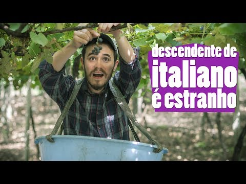 Descendente De Italiano é Estranho