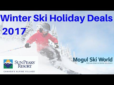 Sun Peaks Canada Ski Holiday Deals 2017