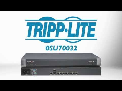 Minicom by Tripp Lite 8-Port Remote KVM Switch 0SU70032