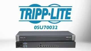 Minicom by Tripp Lite 8-Port Remote KVM Switch 0SU70032