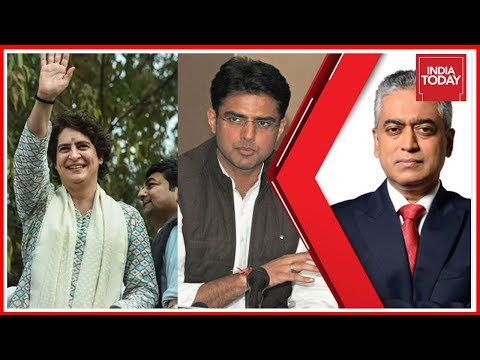 Sachin Pilot Exclusive On Priyanka Gandhi's Roadshow In Lucknow | Countdown With Rajdeep