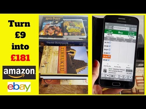 Sell used books, games, DVDs, puzzles on Amazon and Ebay
