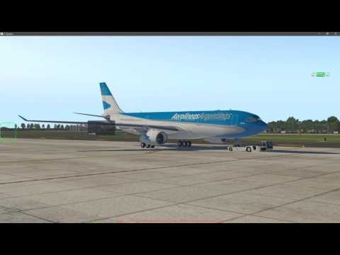 X-Plane 11, A330 JARDesign Aerolíneas Argentinas