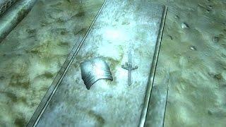 The Elder Scrolls 4: Oblivion - Единственные доспехи и оружие Брюсефа Амелиона в начале игры.