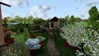 видео Озеленение дачного участка. Ландшафтный дизайн. Отзывы. Москва и Московская область