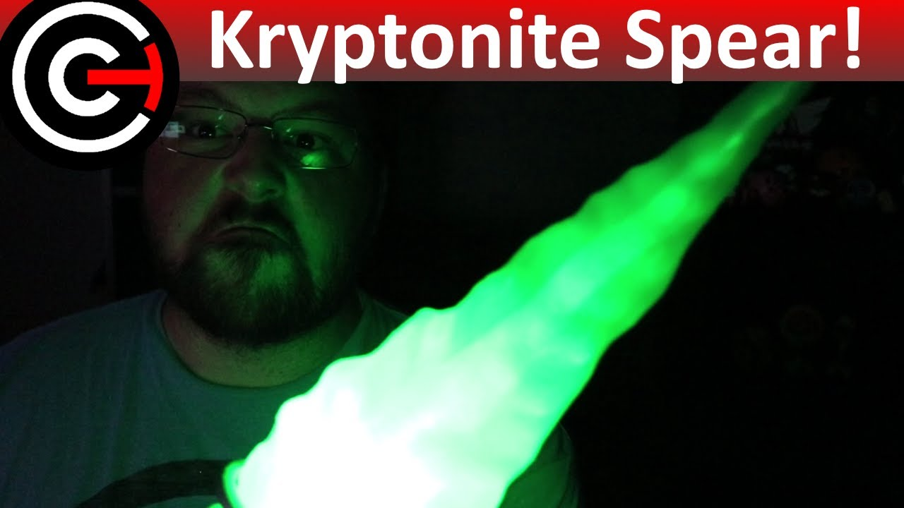 3D Printed Kryptonite Spear [Batman V Superman] - Movie Prop