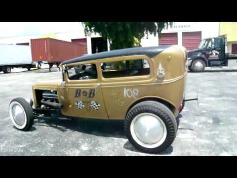 A Ford A 1930 Sedan Hot Rod Rats Rebelracingproduct Usa