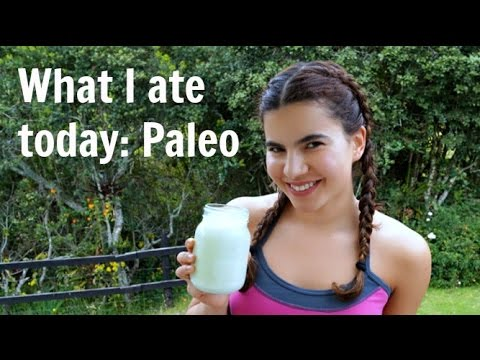 What I ate today: Paleo diet