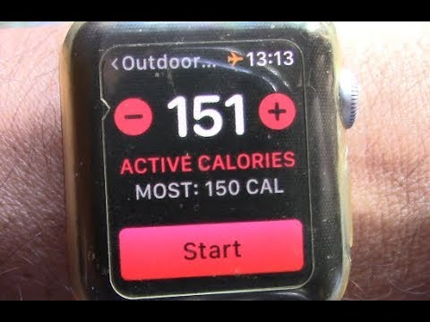 How to Set Workout Goals on WatchOS 5