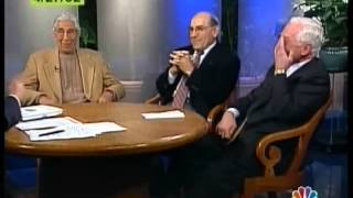 TIM RUSSERT WITH BASEBALL LEGENDS   APRIL 27, 2002