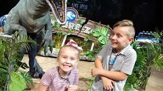 Kids Meet the DINOSAURS at Jurassic World Live Tour! KIDCITY