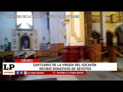 Santuario de la Virgen del Socavón reci...