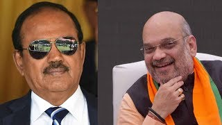 NSA Ajit Doval briefs Union home minister Amit Shah on security situation in J&K