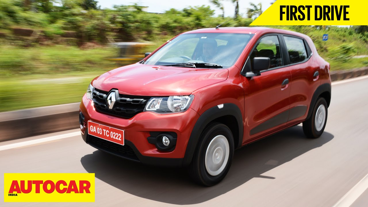 Renault Kwid First Drive Autocar India Youtube