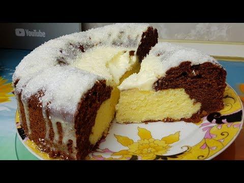Кокосовый Вулкан к 8 марта, цыганка готовит. Пирог Баунти.😍 Gipsy Cuisine.👍