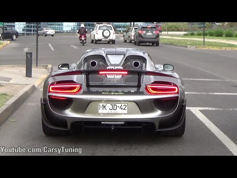 Supercars in Santiago Chile Vol 31 - Speciale Aperta, LFA, 918 Spyder, 250 Testarrosa and more!