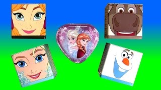 Frozen Surprise Boxes Disney Princess Anna Elsa Sven Olaf Huvos Sorpresa Minions Mashems