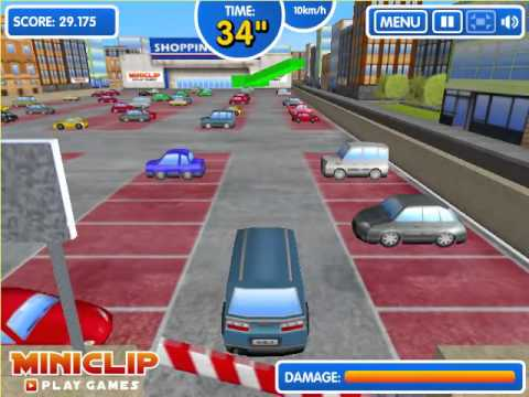 Shopping Mall Parking -  The Best Car Parking -  Car Parking Kids Game