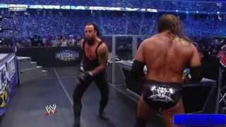 wwe undetaker vs triple h wm27 highlights hd