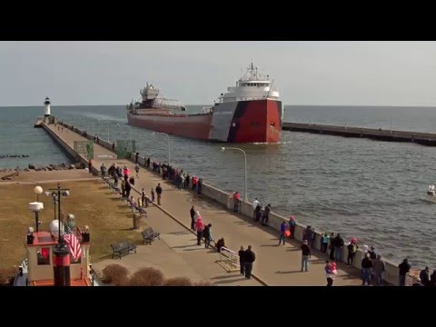 Arthur M. Anderson arrived Duluth 03/29/2016