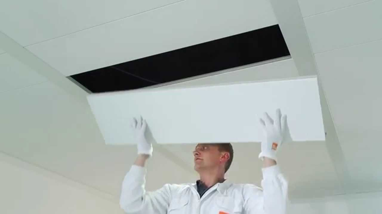 Installation Video Bandraster System Suspended Ceilings From - Abgehängte Decke System