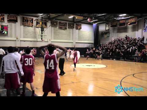 NHS Sports: Boys Varsity Basketball: Buzzer Beater vs. Commerce (2014-12-22)