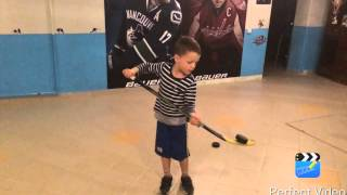 Максим Голощапов. 5 лет. Детский хоккей.