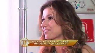 Paula Fernandes revela dieta para manter o corpão  Mundo Midia Noticias