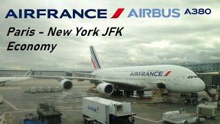✈️ FLIGHT REPORT ✈️ Air France - Paris CDG to New York JFK - Airbus A380-800