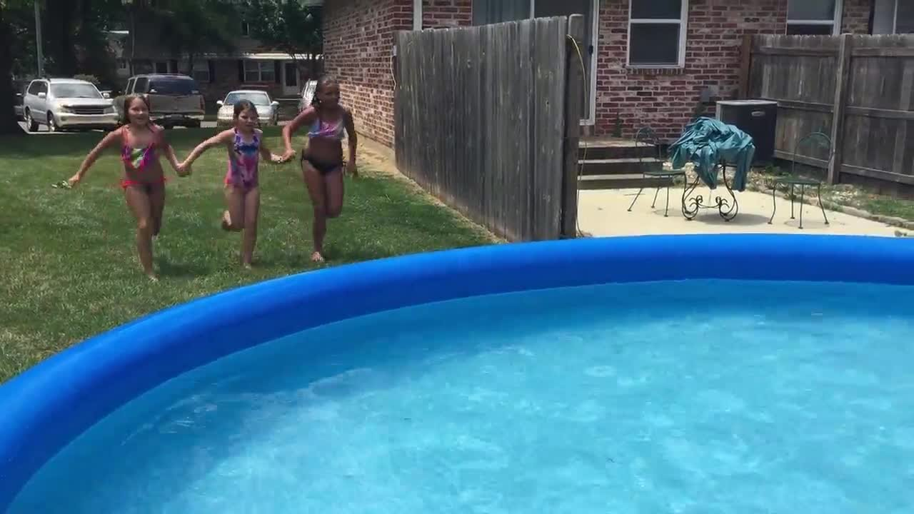 Large Inflatable Pools Face City Code Issues Youtube