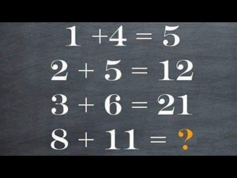 5 Maths Puzzle - Can You Solve? 90% Fail