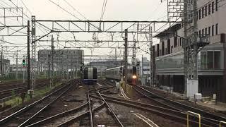 [連番‼️]名鉄2200系 2210f(特急中部国際空港行き)・2211f(特急岐阜行き)栄生駅 通過‼️