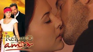 Un refugio para el amor - Capítulo 9: El primer beso de Luciana y Rodrigo | Tlnovelas