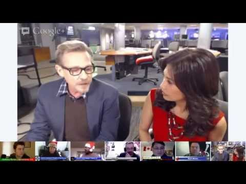 MyFOXLA Google Hangout: Dennis Christopher Talks Django Unchained