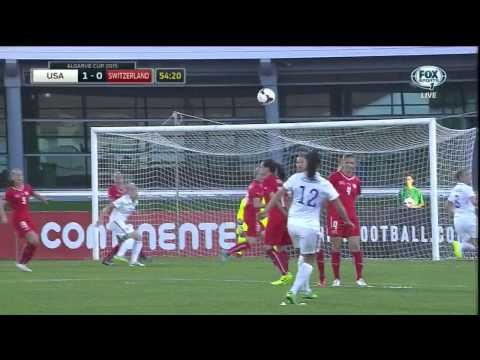 USWNT Switzerland 2015 Algarve Cup Group B Full Game USA FOX SPORTS