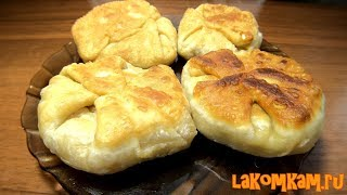 Плацинды с картофелем (затраты 20 рублей). Молдавский рецепт