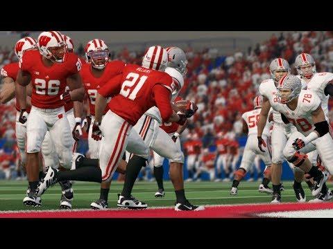 NCAA Football 14 2017 BIG TEN Conference Championship Ohio State Buckeyes vs Wisconsin Badgers