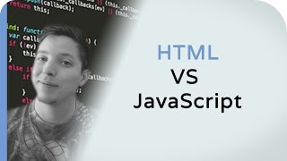 What's The Difference With HTML VS JavaScript