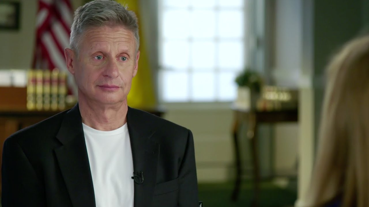 Gary Johnson: He's Also Running | Full Frontal with ...