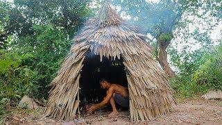 Primitive Technology: Palm Leaf Hut