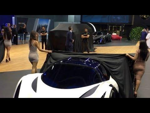 Devel Sixteen a 5000hp!!! Supercar - Dubai International Motor Show 2017