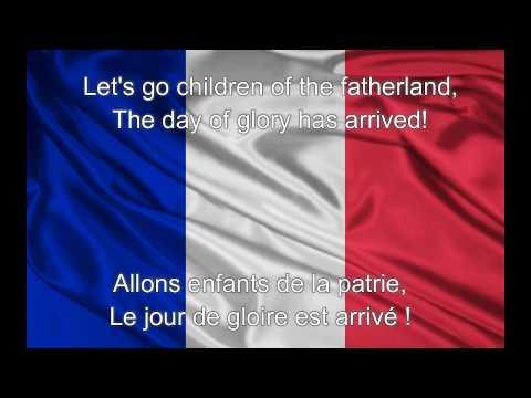 La Marseillaise - France National Anthem (English/French lyrics)