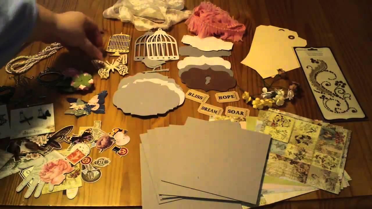 Butterfly Garden Mini Album Kit **FOR SALE** - YouTube