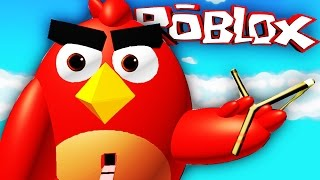 ENTKOMME DEM ANGRY BIRDS OBBY!!! Roblox