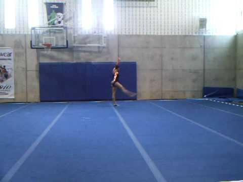 Lauren Gould Floor 2010 Eastern Canadien Gymnastic...