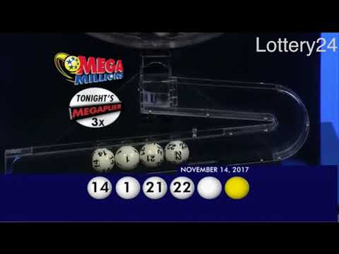 2017 11 14 Mega Millions Numbers and draw results