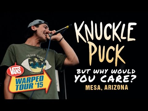 """Knuckle Puck - """"But Why Would You Care?"""" LIVE! Vans Warped Tour 2015"""