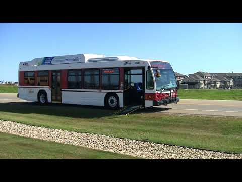 Red Deer County - New Transit Bus in 2017